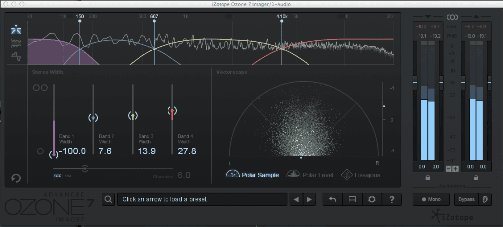 multiband stereo imager when mastering EDM