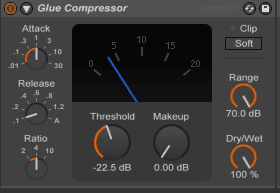 use compression to add attack and power to your tracks